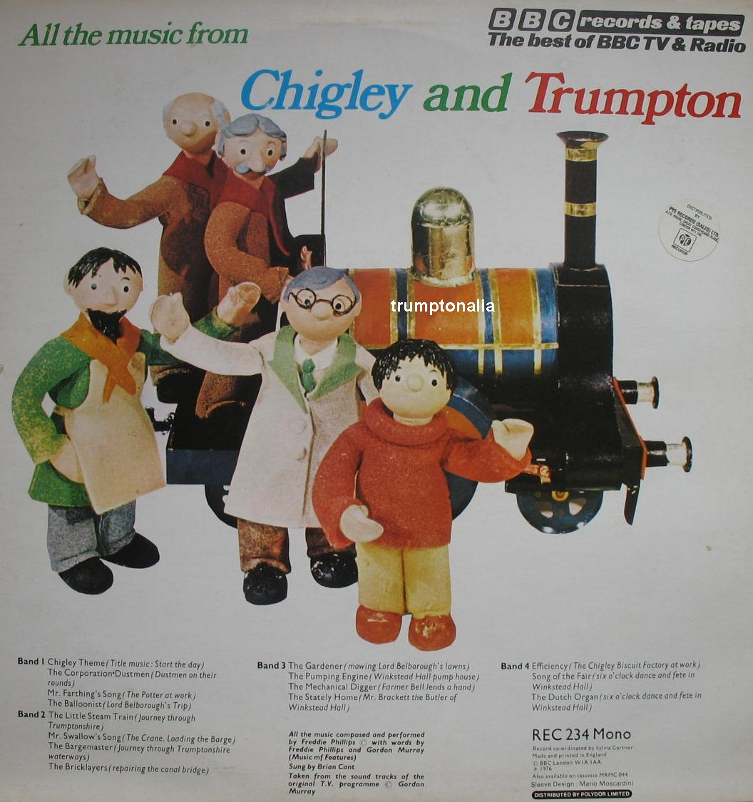 Trumpton Camberwick Green Vinyl Lp Records